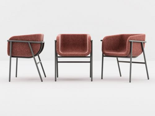 Flora, la poltroncina di Chairs & More dal design fresco e accativante