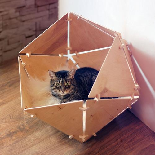 Catissa Geobed, contemporary sleeping place for pets.