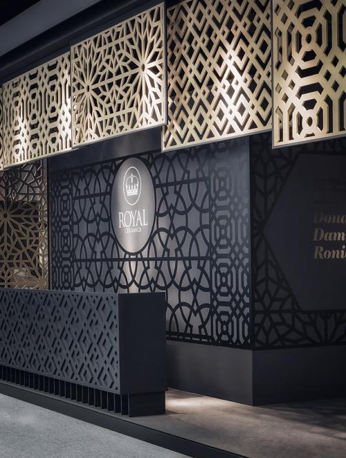 The Lobby | Royal Ceramica @ CERSAIE 2015 |