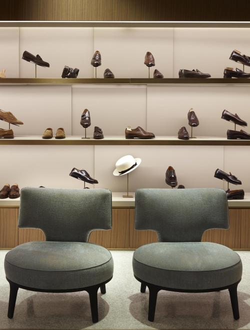 Giuseppe Bartoli shoes showroom