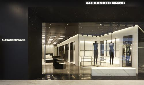 Alexander Wang Bangkok by Christian Lahoude Studio in collaboration with Alexander Wang