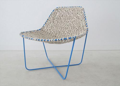PAPER KNITTED CHAIR