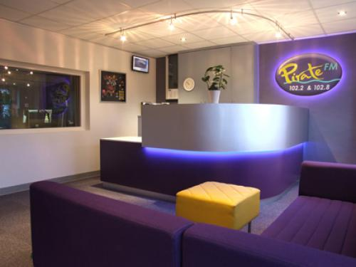 Pirate FM radio station reception area