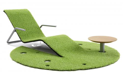 Turf Rug Lounger