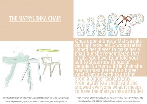 Matryushka chair