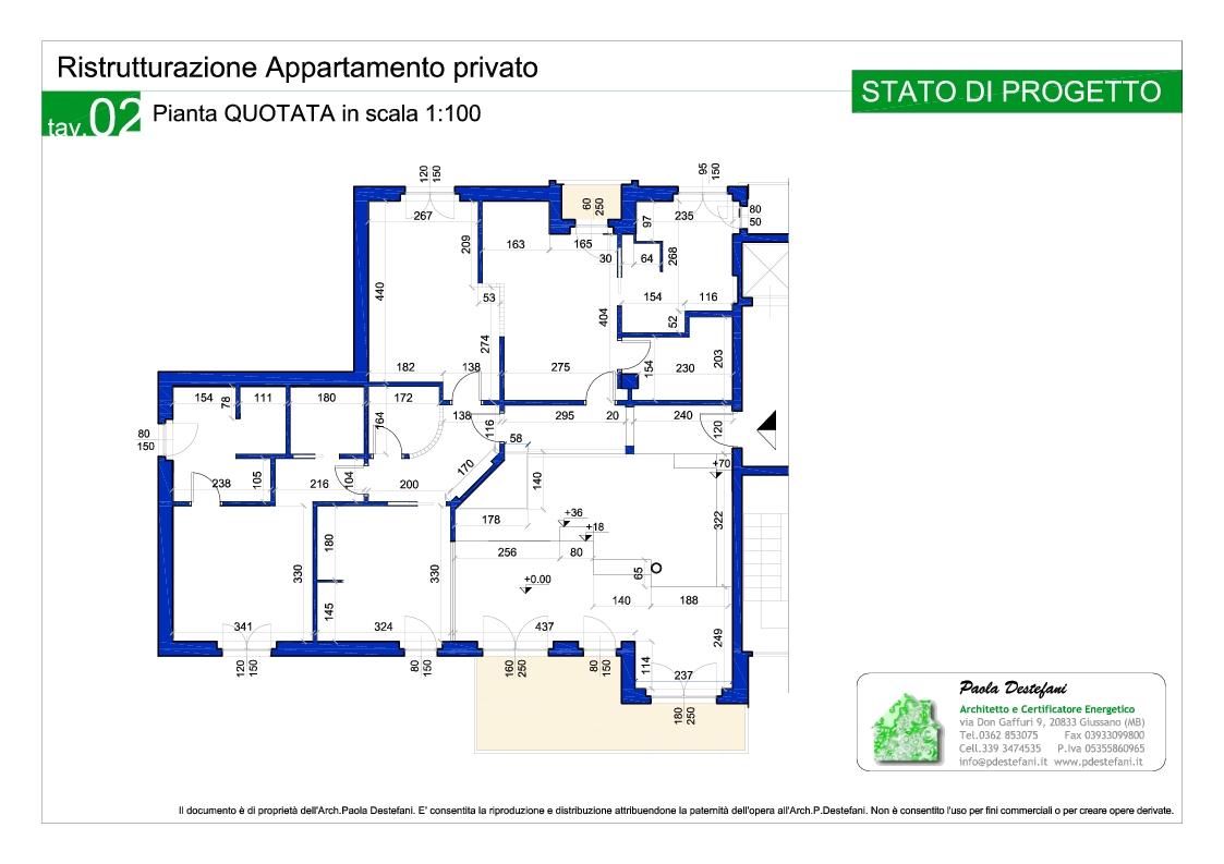 Ristrutturazione appartamento privato - Progetto casa giussano ...