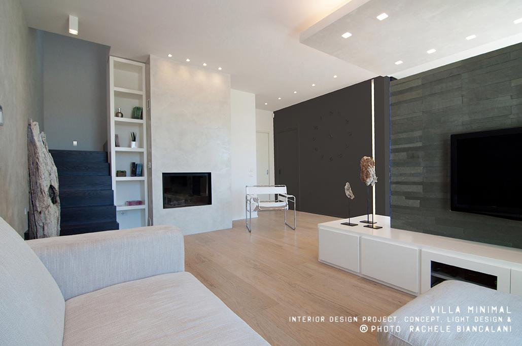 Villa minimal for Arredamento minimal moderno