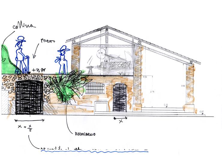 Studio bettonica leone ristrutturazione fienile for Planimetrie delle case del fienile
