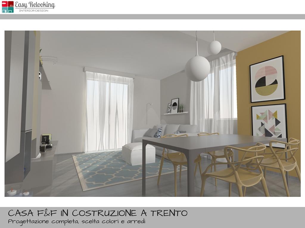 Progettazione di interni per villa indipendente for Arredare casa in bianco