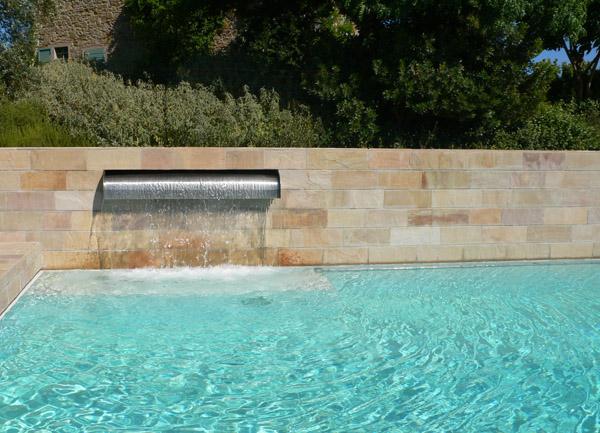 Una piscina su misura.