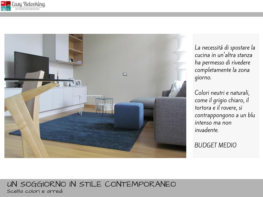 Soggiorno Grigio E Blu ~ Idee per il design della casa