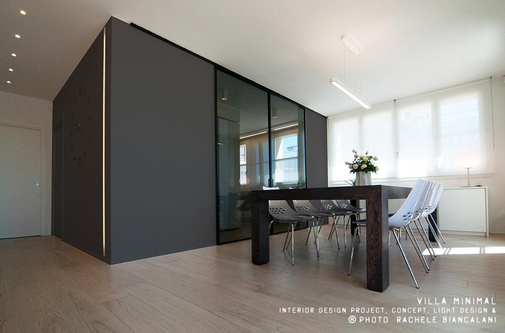 Villa minimal for Architetto arredamento interni