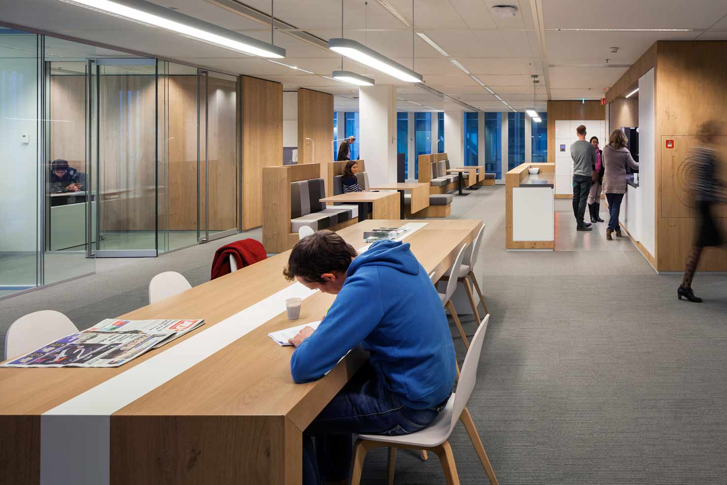 Interior design municipal offices de rotterdam