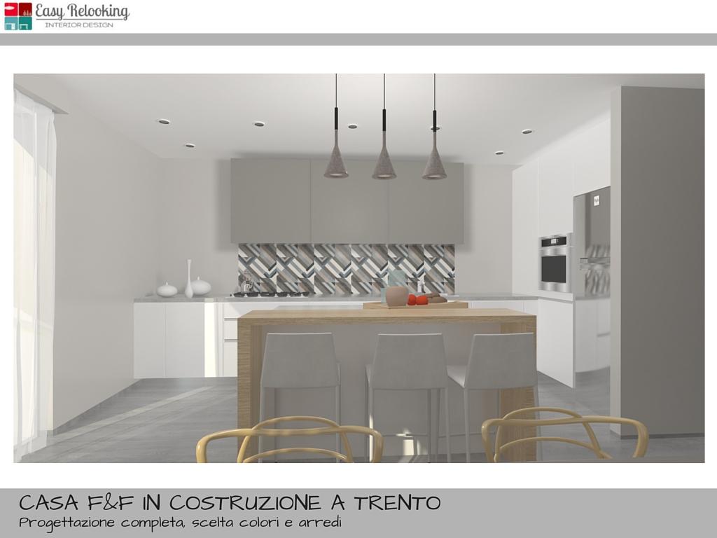 Progettazione di interni per villa indipendente for Arredamento appartamento completo