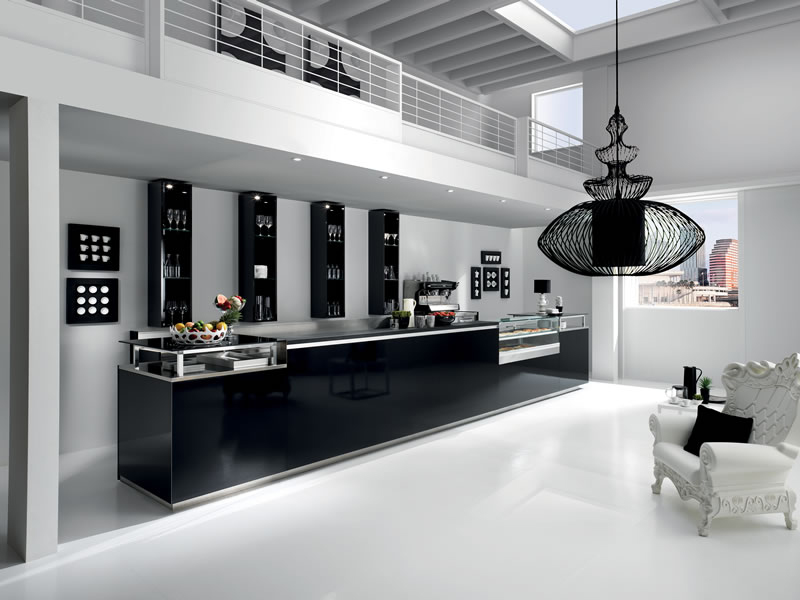 Arredamento bar le tendenze di arredamento bar e design for Arredamento minimal moderno