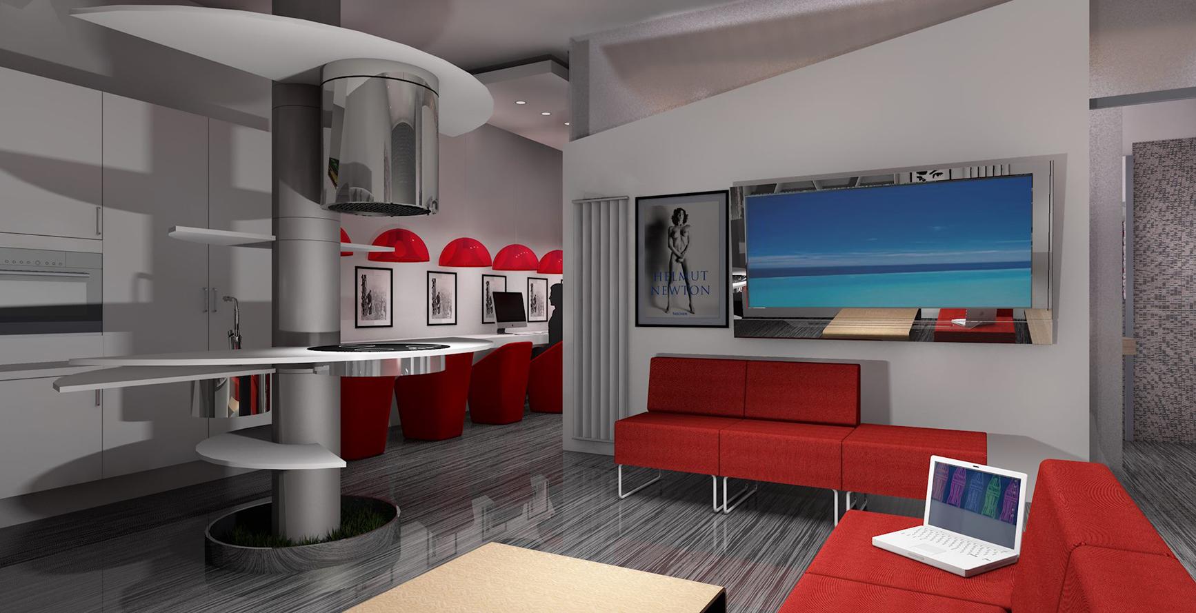 www.theinteriordesign.it  ARREDAMENTO MONOLOCALE SULLE RIVE DEL LAGO ...