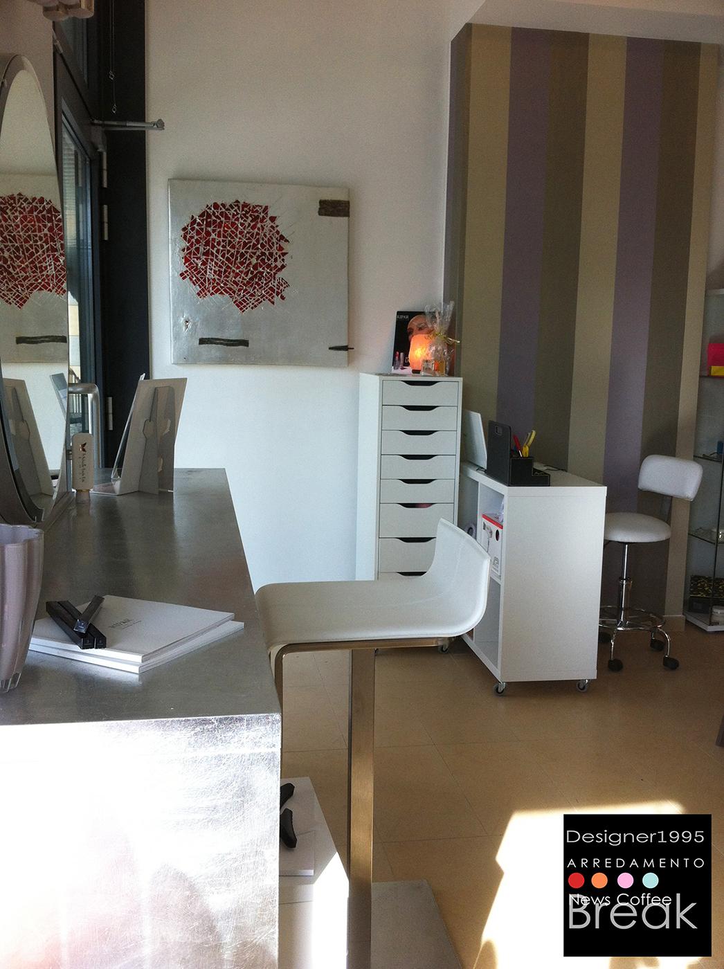 Atelier di bellezza meravigliosa centro estetico for Centro estetico arredamento
