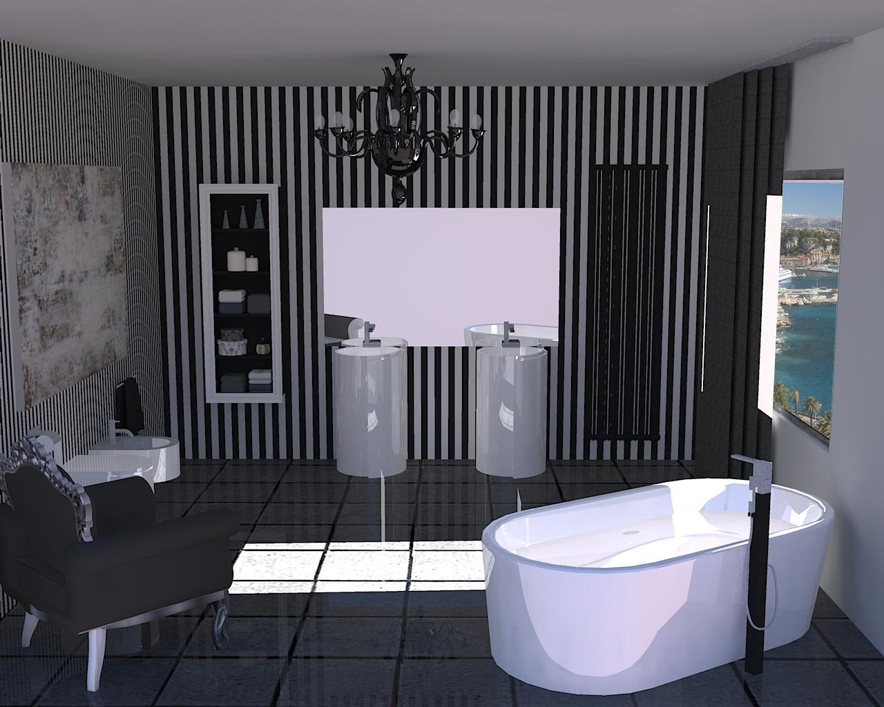 Bagno moderno - Tende bagno moderno ...