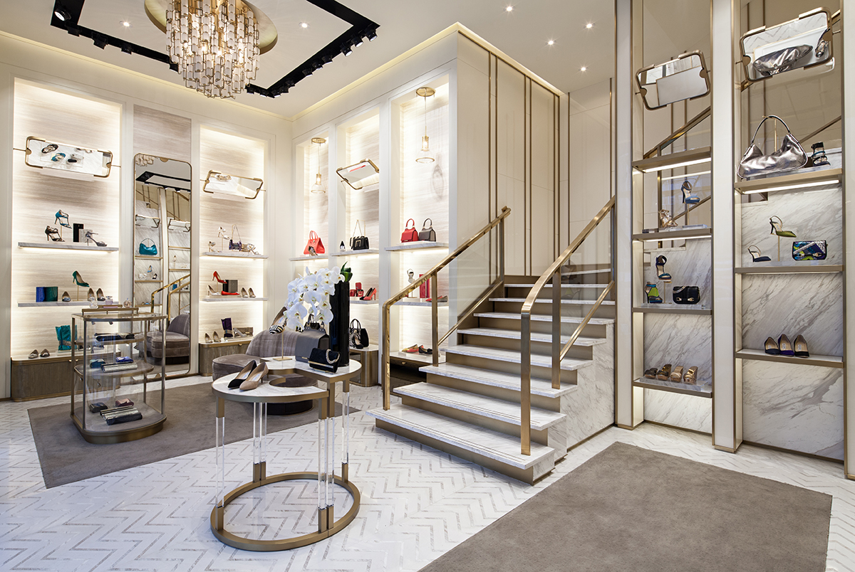 "Jimmy Choo ""The Jimmy Choo woman is unanchored and transient, constantly on the move, which makes her so of the moment,"" says Creative Director Sandra Choi – that explains why the brand's shoes and accessories have graced countless red carpets and are loved by ."