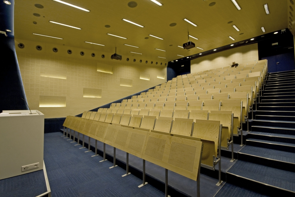 A B C Lecture Halls At Silesian University Of Technology