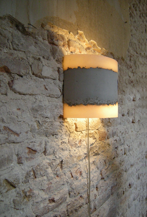 Concrete Floor Table Lamps Amp Wall Lamp