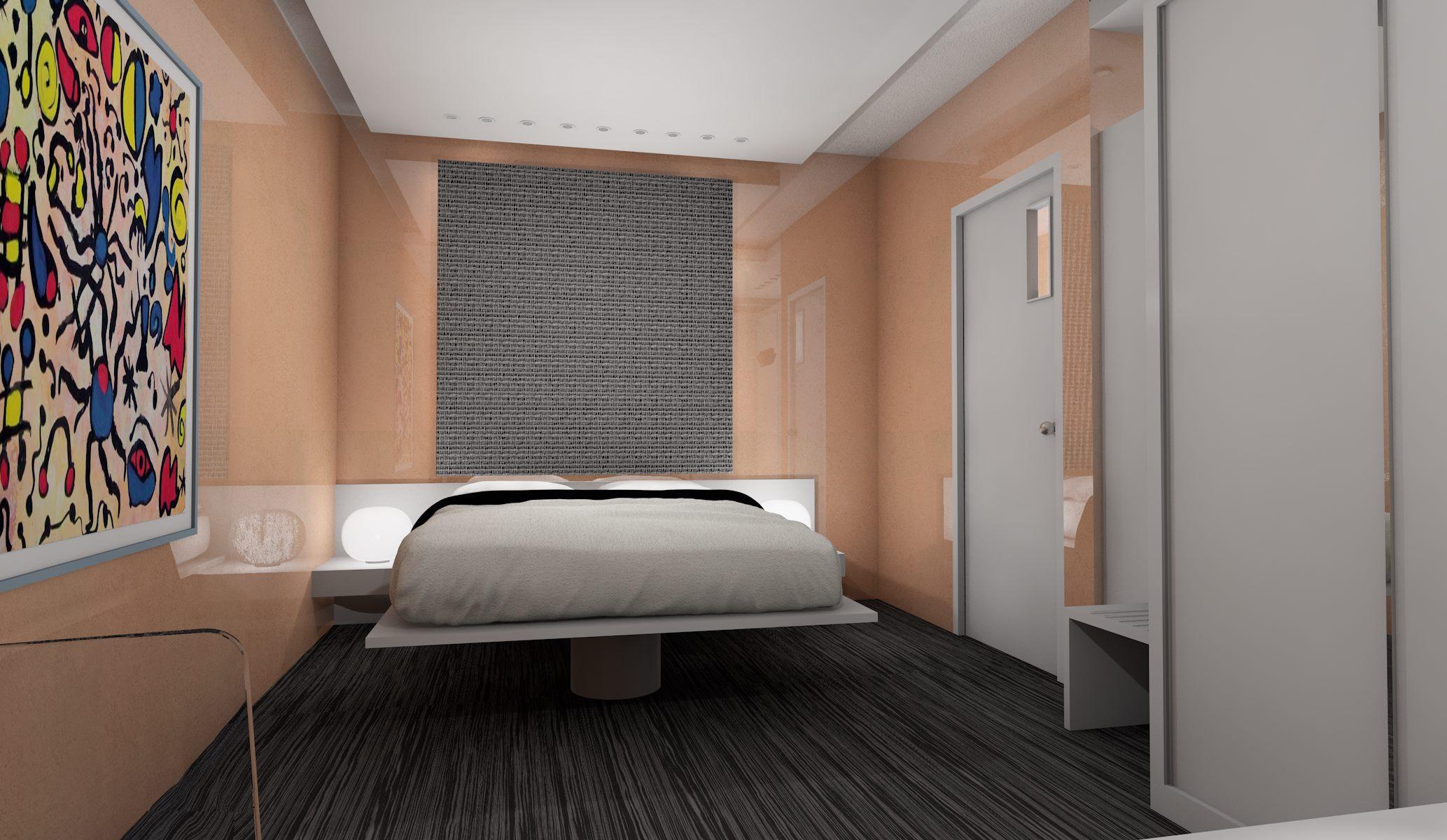 Progetto arredamento hotel contract for Ivan arredamenti