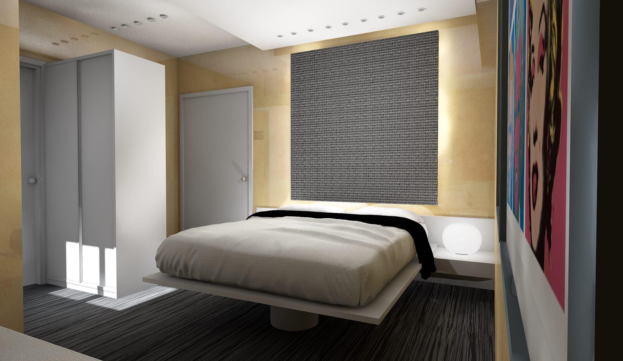 progetto arredamento hotel contract