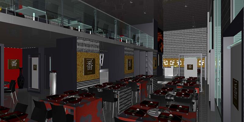 Progetto arredamento ristorante cinese genova liguria for Arredamento in spagnolo