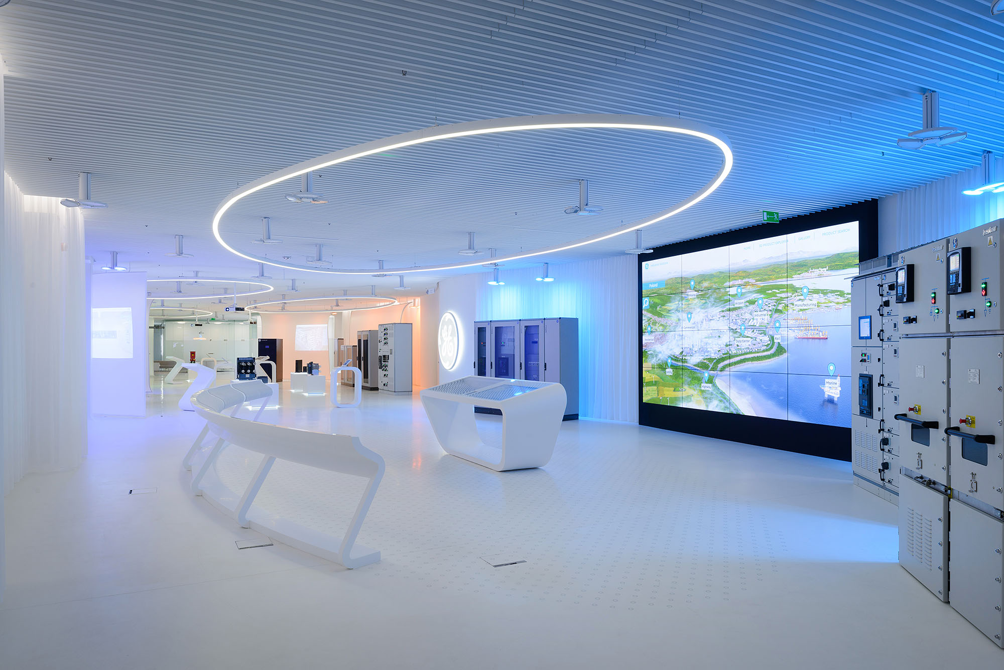 Ge customer experience center for Interior design work experience