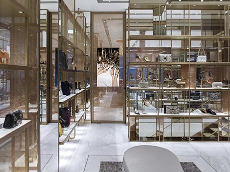 Jimmy Choo Milan Showroom