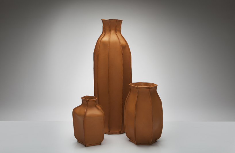Plumber S Piece Leather Vases