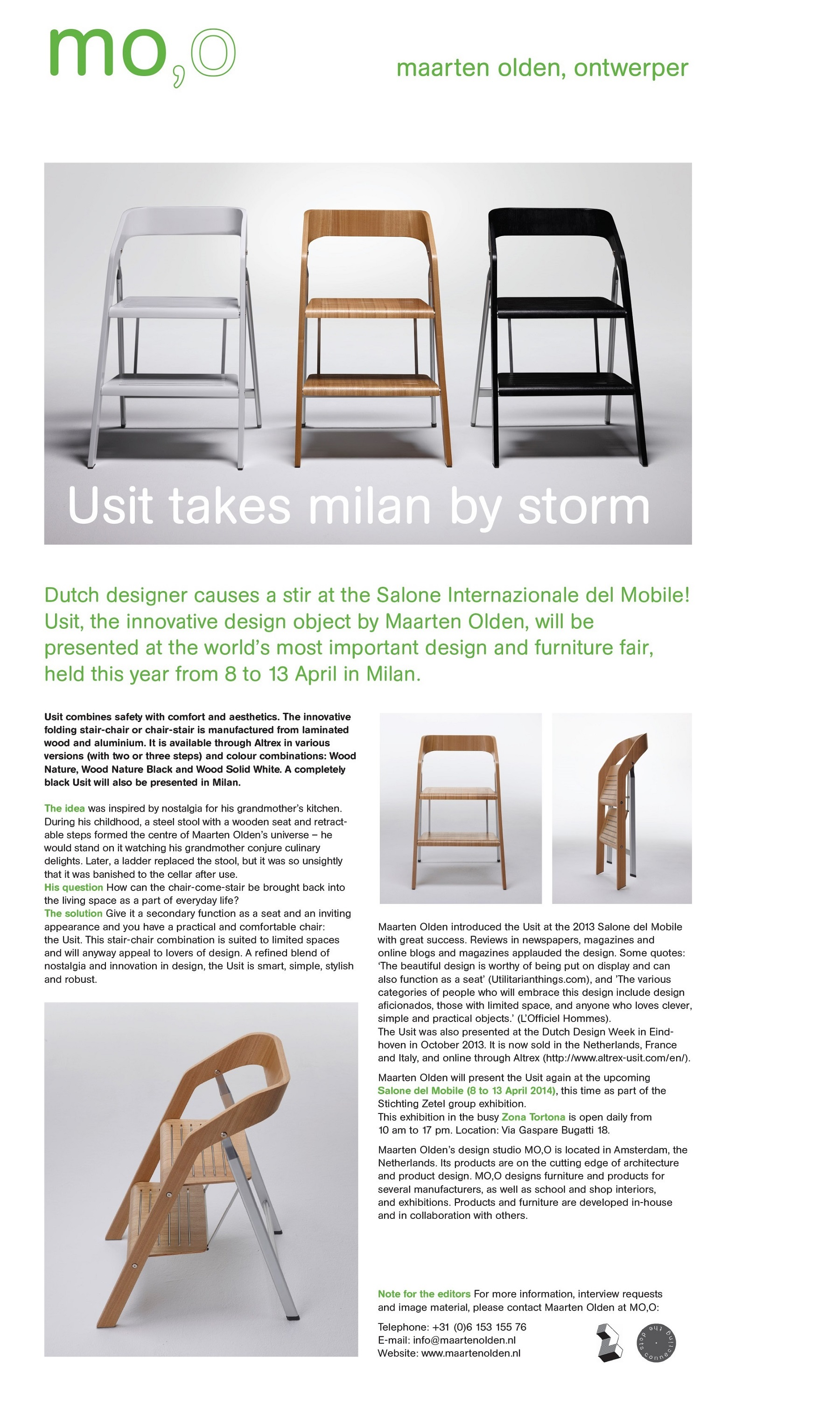 Phenomenal Usit At Salone Del Mobile Caraccident5 Cool Chair Designs And Ideas Caraccident5Info