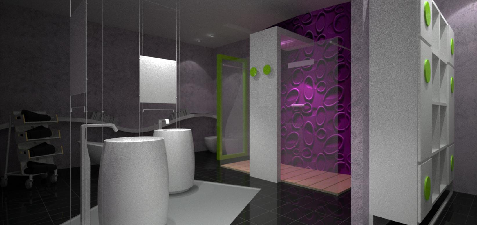 Arredamento stanza da bagno for Design arredo bagno