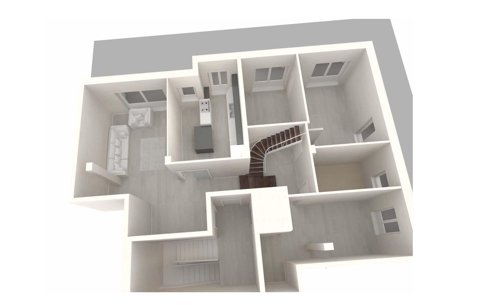 Case A Due Piani appartamento su due piani