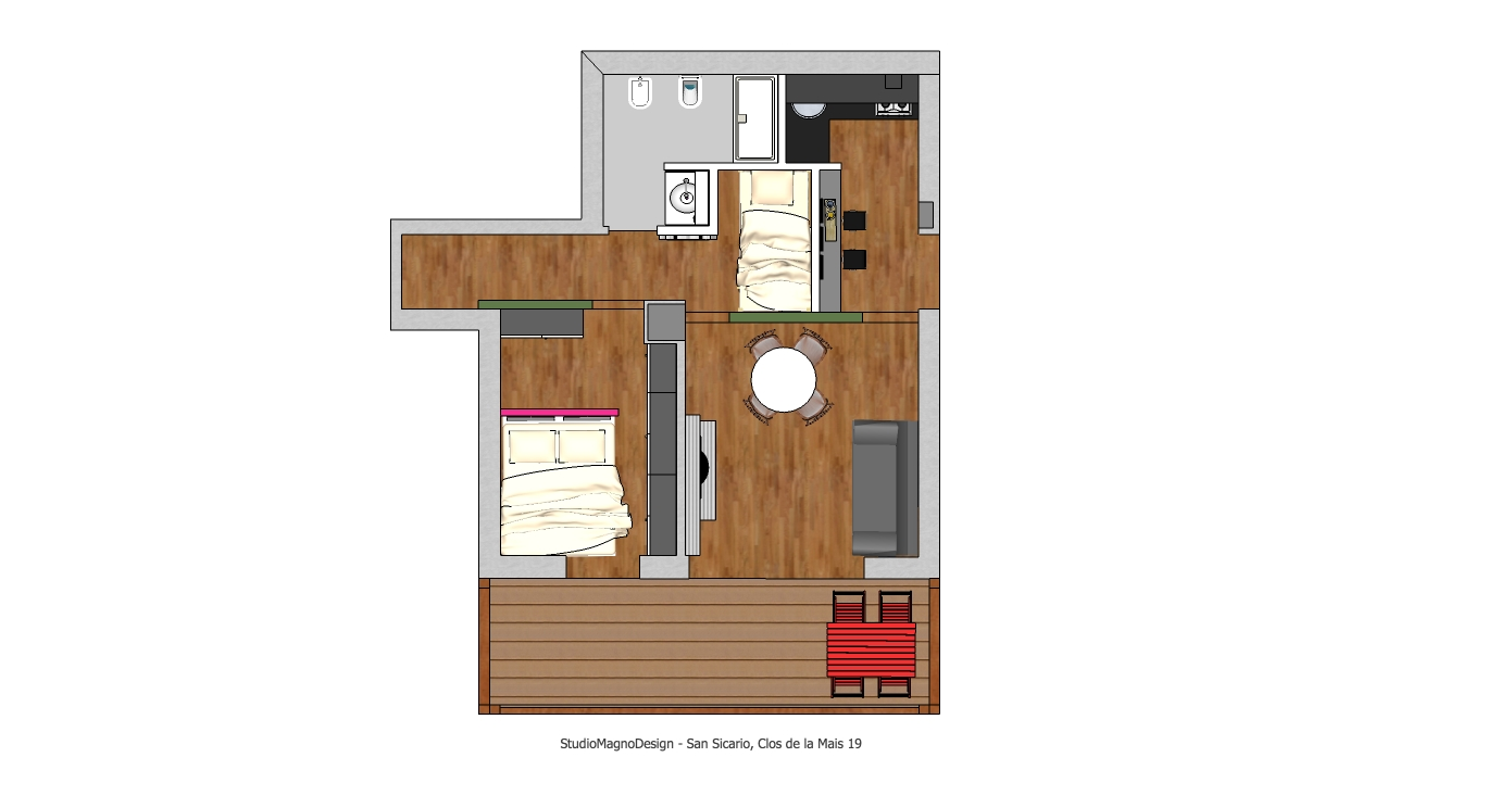 Progettazione di piccoli spazi for Progettazione di idee di scantinato