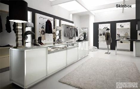 Progettazione e arredamento negozio abbigliamento liguria for Arredamenti per negozi abbigliamento