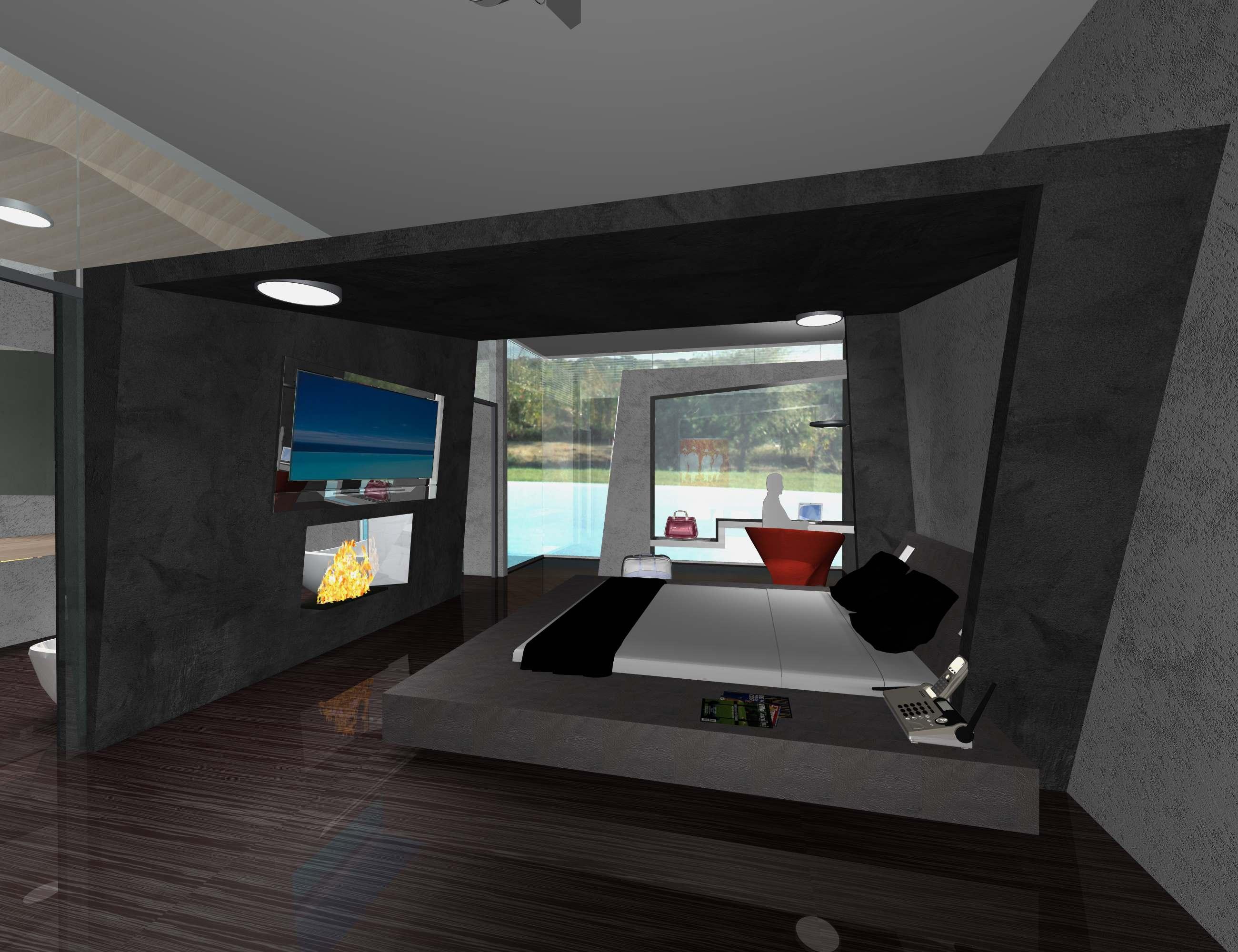 Progettazione suite hotel for Ivan arredamenti