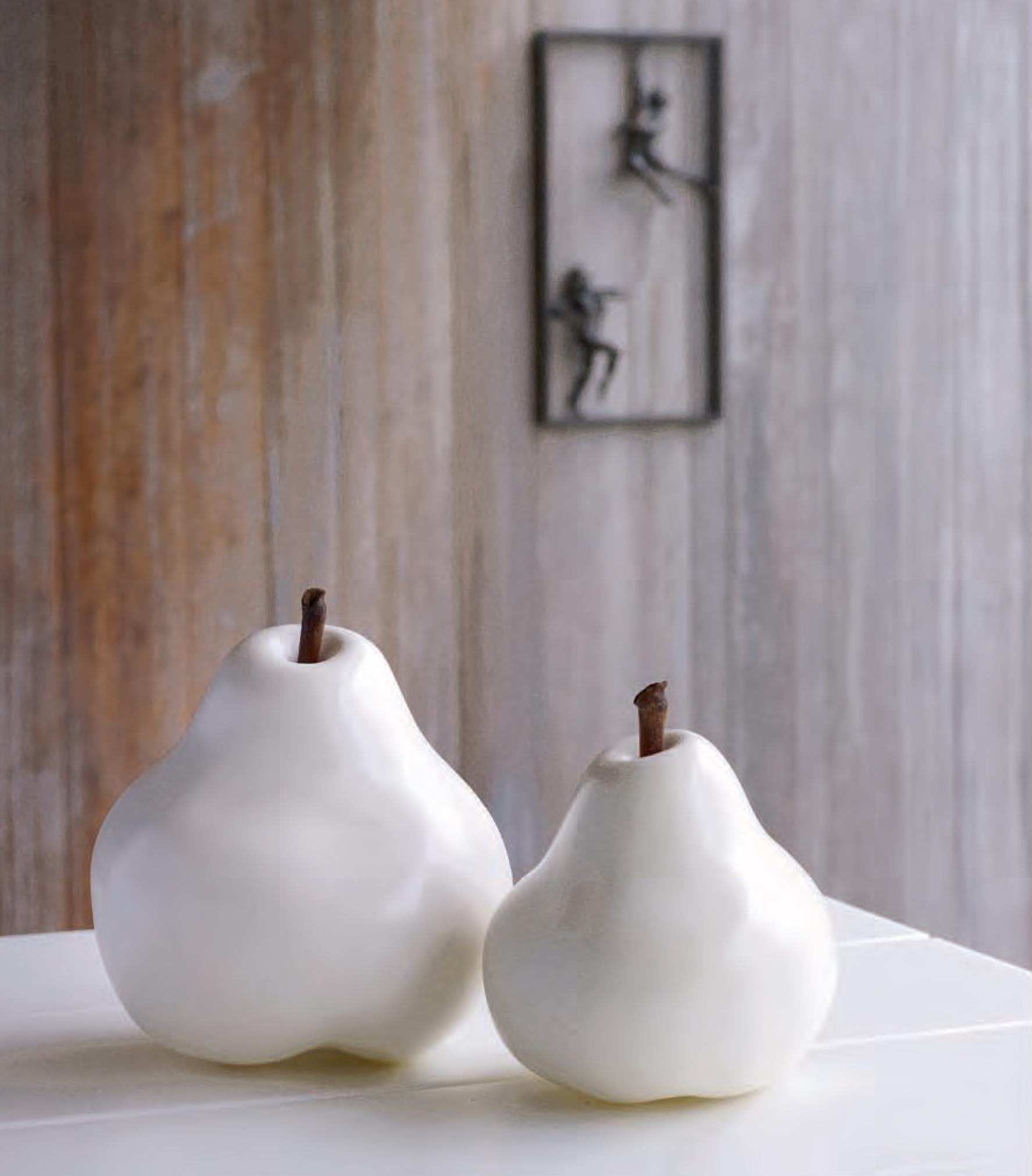 Cores da terra pear - Oggetti ceramica design ...