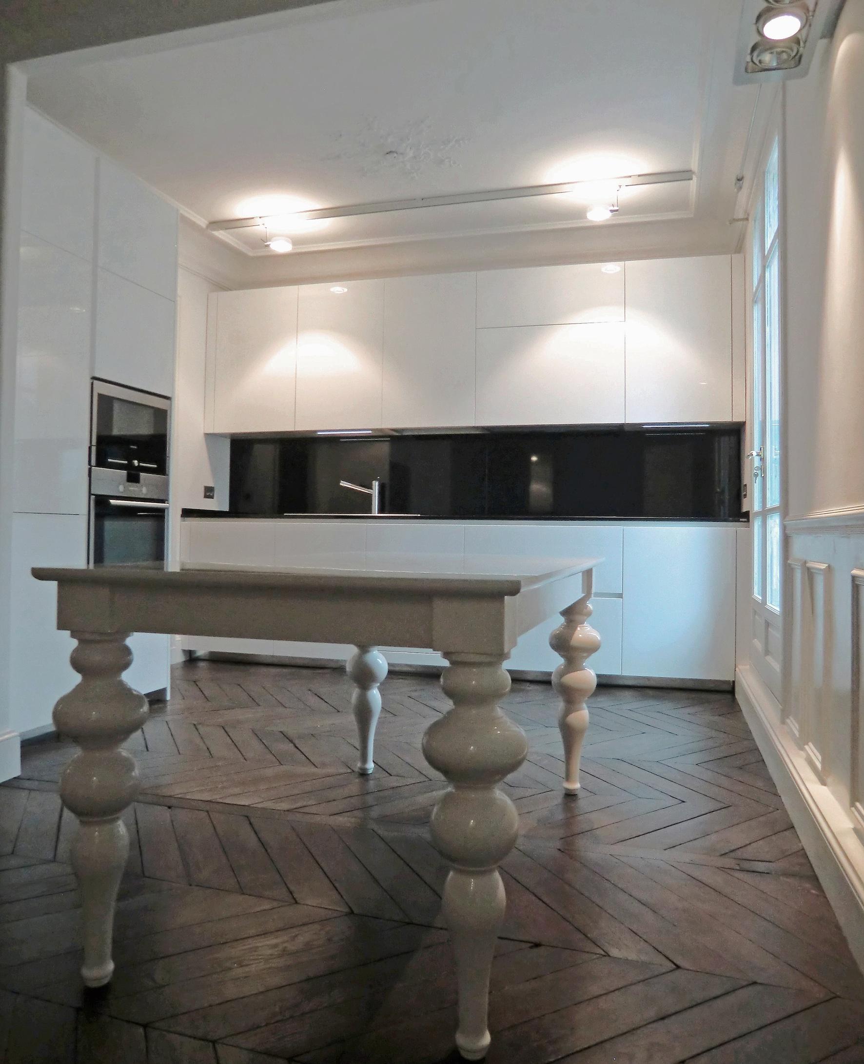 Paris xvi - Parquet in cucina ...