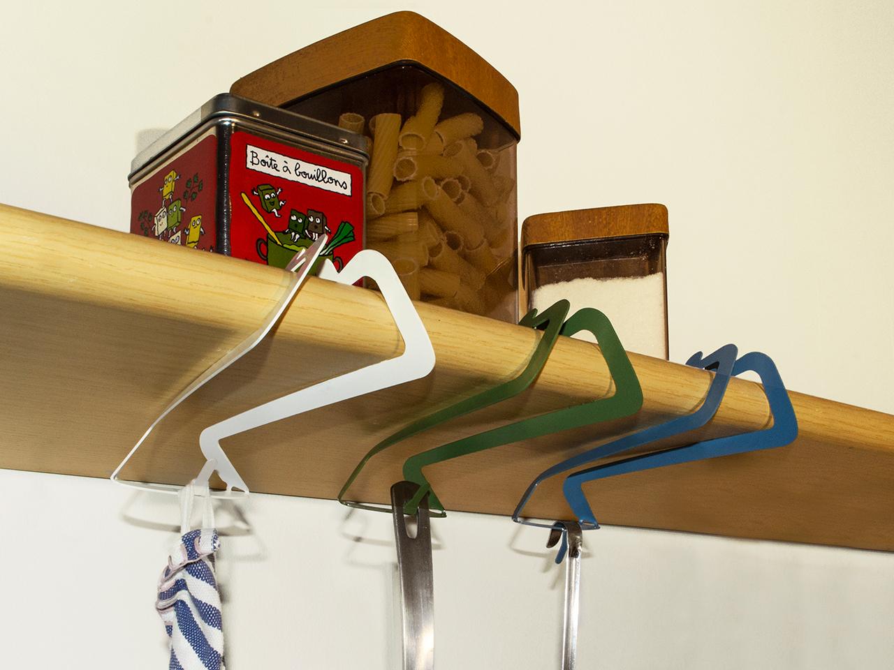 Ganci per utensili da cucina passpartout for Appendi utensili da cucina