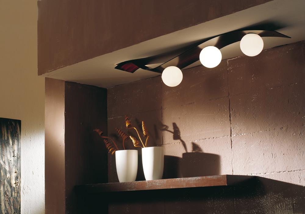Wave, collezione di lampade per interni.